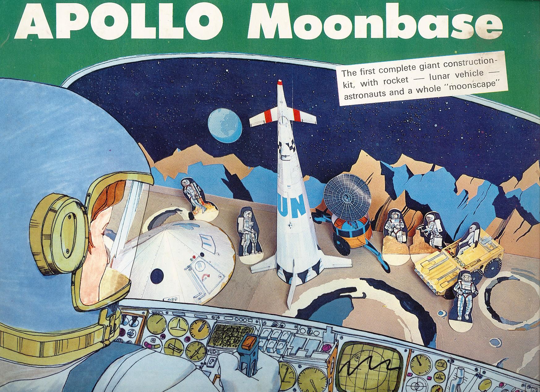1969. Apollo Moonbase